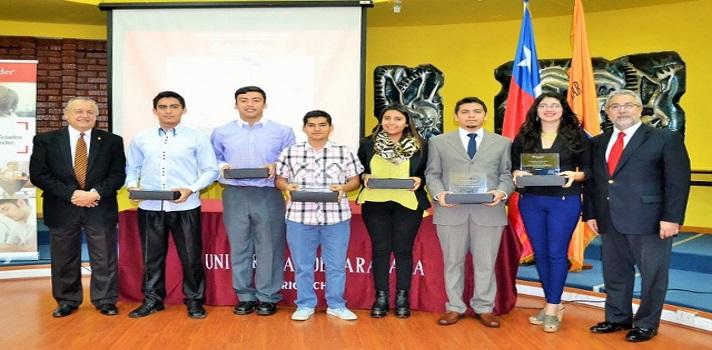 Estudiantes y docente de la Universidad de Tarapacá reciben Becas Iberoamérica