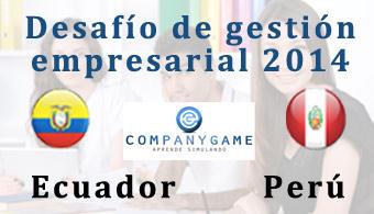 CompanyGame invita al Primer Desafío de Gestión Empresarial