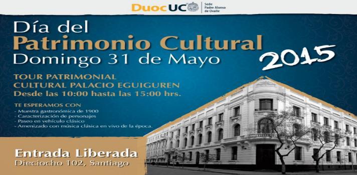 Palacio Eguiguren abrirá sus puertas el Día del Patrimonio Nacional