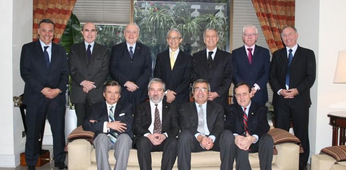 Los rectores de las universidades chilenas