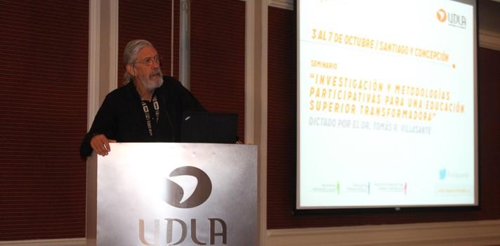 """Dr. Tomás Villasante: """"La educación no se trata sólo de impartir metodologías, sino de reflexionar sobre lo que estamos haciendo y para qué estamos aprendiendo"""""""