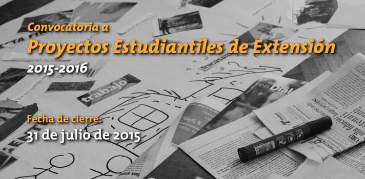<p>La <span style=text-decoration: underline;><a href=https://www.extension.edu.uy/ target=_blank>Extensión Universitaria</a></span>de la <span style=text-decoration: underline;><a href=https://www.universia.edu.uy/universidades/universidad-republica-0/in/11203>Universidad de la República</a></span>(Udelar) es el medio por el cual los estudiantes tienen la posibilidad de poner los conocimientos adquiridos en la carrera al servicio de la comunidad, a través de distintas modalidades de proyectos. Actualmente está abierta la convocatoria para que grupos de estudiantes presenten su Proyecto al Consejo Directivo Central (CDC) y la Comisión Sectorial de Extensión y Actividades en el Medio (CSEAM).</p><p></p><p><span style=color: #ff0000;><strong>Lee también</strong></span><br/><a style=color: #666565; text-decoration: none; title=Udelar: carreras de Abogacía y Notariado podrán cursarse en cinco años href=https://noticias.universia.edu.uy/educacion/noticia/2015/06/17/1126854/udelar-carreras-abogacia-notariado-podran-cursarse-cinco-anos.html>» <strong>Udelar: carreras de Abogacía y Notariado podrán cursarse en cinco años</strong></a><br/><a style=color: #666565; text-decoration: none; title=Estudiar desde casa: 10 cursos online gratuitos que comienzan en julio href=https://noticias.universia.edu.uy/educacion/noticia/2015/06/29/1127391/estudiar-casa-10-cursos-online-gratuitos-comienzan-julio.html>» <strong>Estudiar desde casa: 10 cursos online gratuitos que comienzan en julio</strong></a></p><p></p><p>Los proyectos aprobados serán financiados por la institución y llevados a cabo en el período 2015-2016. Su ejecución estará a cargo enteramente de los estudiantes, aunque estos recibirán un acompañamiento de los docentes orientadores.</p><p><strong></strong></p><p><strong>¿Quiénes pueden postularse?</strong></p><p>Pueden postularse a este llamado equipos de por lo menos <strong>tres estudiantes</strong> de cualquier carrera de grado de la Udelar. Estos alumnos deben ser activos