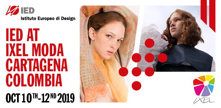 IED participa en la próxima edición del 1º Encuentro Latinoamericano de Industrias Creativas en IXEL Moda Cartagena
