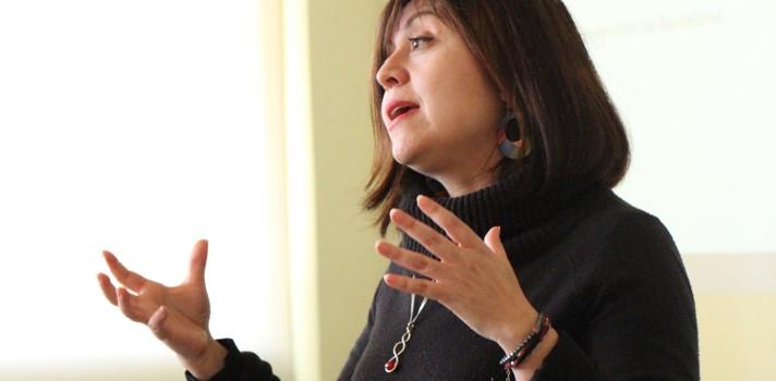 Judith Muñoz, académica de la Universidad de Barcelona