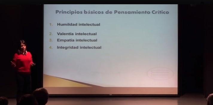 """Sonia Carrasco y el pensamiento crítico: """"Hoy sabemos que la inteligencia no es un número o un parámetro, es una capacidad"""""""