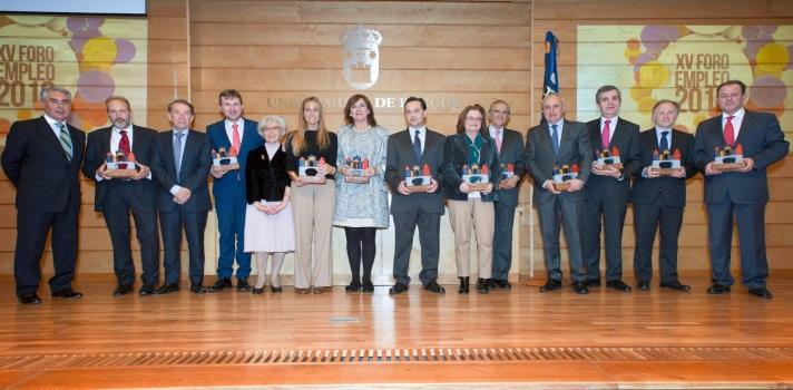 La Comunidad Laboral Universia-Trabajando.com fue galardonada por la Universidad de Burgos.