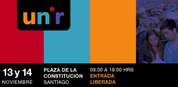 Universidades regionales organizan feria educativa en Santiago