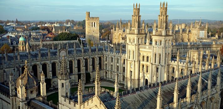 Oxford es de las universidades más antiguas y reconocida por su excelencia académica