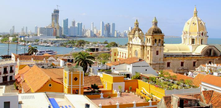 Cartagena de Indias, el destino más elegido para pasar año nuevo.